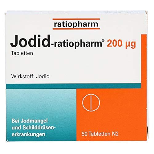 Jodid-ratiopharm 200 g Tabletten, 50 St