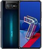 Asus Zenfone 7 Pro 5G (ZS671KS) 8GB+256GB / グローバル版/Dual SIM/Qualcomm Snapdragon 865+ / Motorized flip-upセルフィーカメラ/日本語対応/SIMフリー (Aurora Black/オーロラブラック)