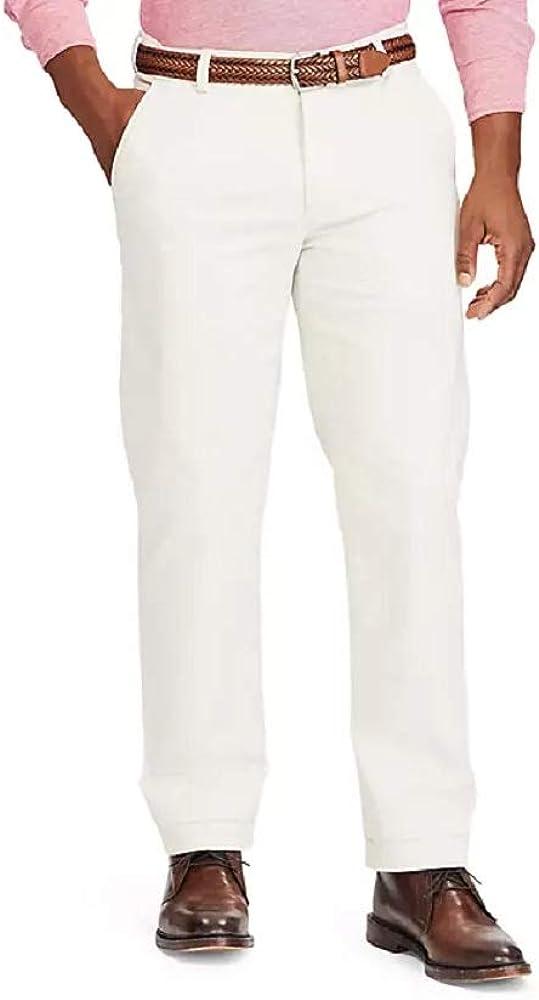 Chaps Men's Stretch Flat Front Pant