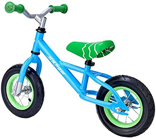 FAHBN Kinder ZWeißdriges Kettenfreies Gleitendes Fahrradwaagenauto 10-Zoll-Kinderwanderer