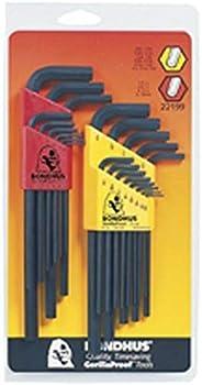 Bondhus Double Pack Hex Long Length L-Wrench Set