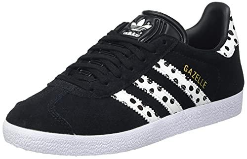 adidas Gazelle W, Zapatillas Deportivas Mujer, Core Black Core White FTWR White, 36 2/3 EU