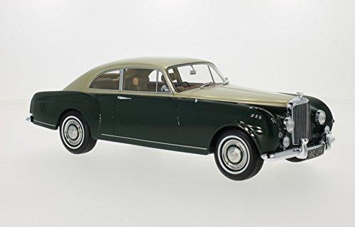 Bentley S1 Continental Mulliner Sports Saloon, dunkelgrün/gold, RHD, 1956, Modellauto, Fertigmodell, BoS-Models 1:18