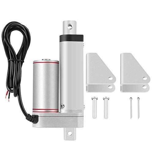 HDHUIXS Sabio Actuador eléctrico Lineal, de 50 mm de Carrera de Trabajo Pesado 750N línea Recta eléctrico actuador Lineal 24V Imaginativo