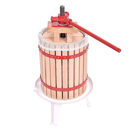 WEIERR 18L Obstpresse Presstuch Mechanische Saftpresse Weinpresse Apfelpresse Fruchtpresse