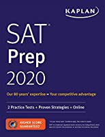SAT Prep 2020: 2 Practice Tests + Proven Strategies + Online (Kaplan Test Prep)