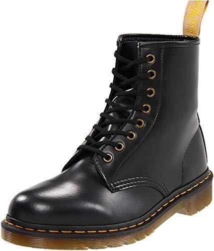 Dr. Martens 1460 Vegan BLACK, Unisex-Erwachsene Combat Boots, Schwarz (Black), 36 EU (3 Erwachsene UK)