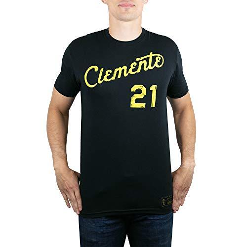 Baseballism Clemente Script Black