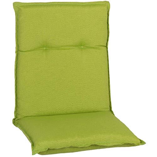 Beo Gartenmöbel Auflage apfelgrün wasserabweisend für Niedriglehner AUB31…