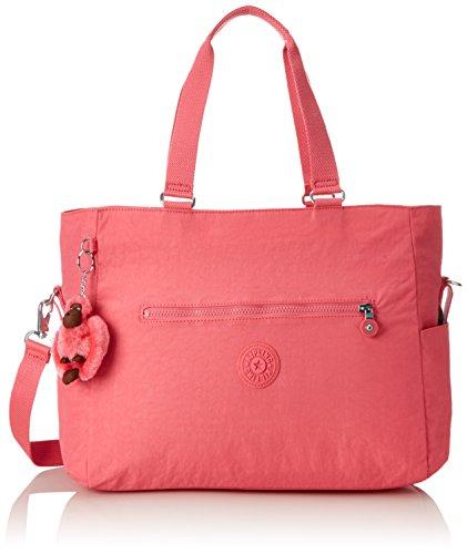 Kipling Adora Baby, Bolso Mochila para Mujer, Rosa (City Pink), 15x24x45 cm (W x H x L)