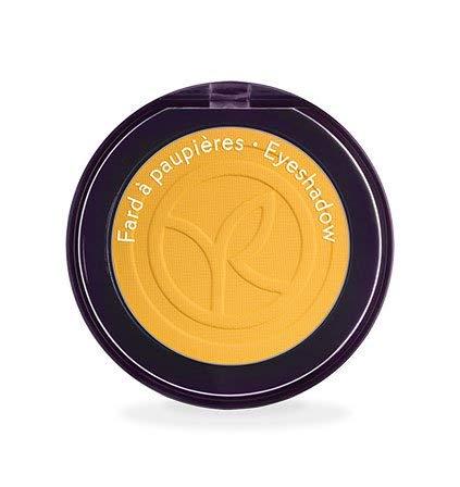Yves Rocher COULEURS NATURE Lidschatten COULEUR VÉGÉTALE Citron mat, einzelner Eyeshadow in Gelb, 1 x Dose 2 g