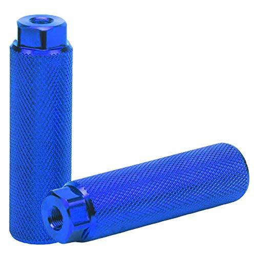 CC Wonderland Blue Universal Standard Bike Pegs - Aluminum Alloy Anti-Skid...