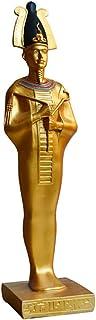 エジプトファラオ像、エジプト神像樹脂モデルアート装飾王Tutankhamunヘッドクラフトデコレーション古代エジプトコレクションアートギフト