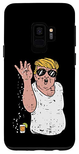 Galaxy S9 Funny Trump Cinco De Mayo Sprinkle Salt Tequila Meme Case