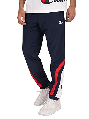Champion Heren Joggingbroek met logo, Blauw
