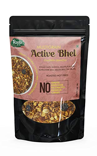 Roasted Granola Snack (Savoury Nutritious Bhel) High Protein...