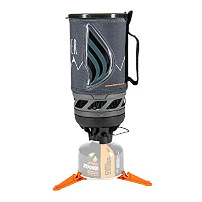 Jetboil Flash Camping and Backpacking Stove Cooking System, Wilderness Gray