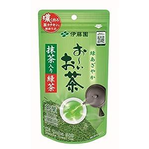 伊藤園 おーいお茶 抹茶入り緑茶 煎茶 100g