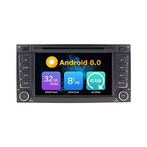 Android 10.0 Stéréo DVD 4G Ram 64G Rom Autoradio GPS La Navigation Radio PourVW Touareg 2004-2011 T5 Multivan Before 2009 Transporter Before 2009