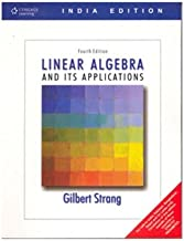 Linear Algebra and Its Applications, 4th Edition, India Edition
