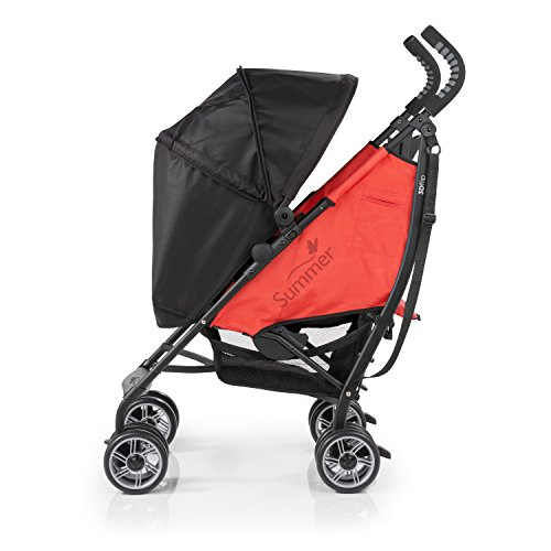 Summer 3Dflip Convenience Stroller, Rerun Red