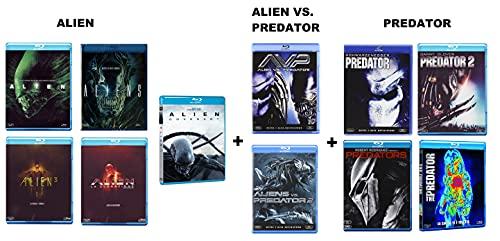 Alien Collection + Predator Collection + Alien vs Predator Collection (11 BLU-RAY) Edizione Italiana