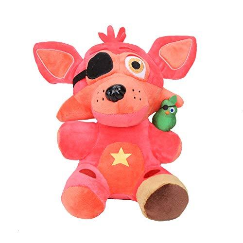Lindos Juguetes Blandos de Rockstar Foxy, muñecos de Peluche para niños, Juguetes de Peluche FNAF de Rockstar Foxy Anime, muñecos de Peluche