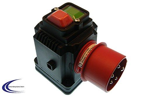 Sicherheitsschalter CEE 400V Nullspannungsschalter - Schützt bei Stromunterbrechung vor automatischem Wiederanlauf