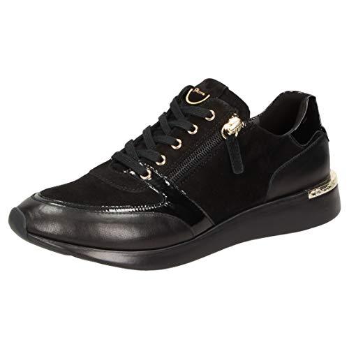 Sioux Damen Malosika-701 Sneaker, Schwarz (Schwarz 000), 42 EU