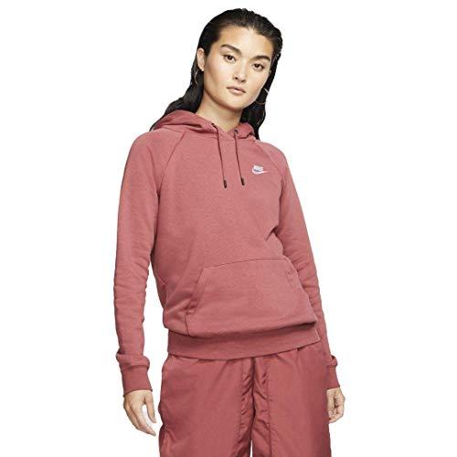 Nike Sportswear Essential Women's Fleece Pullover Hoodie Size XL (Cedar)