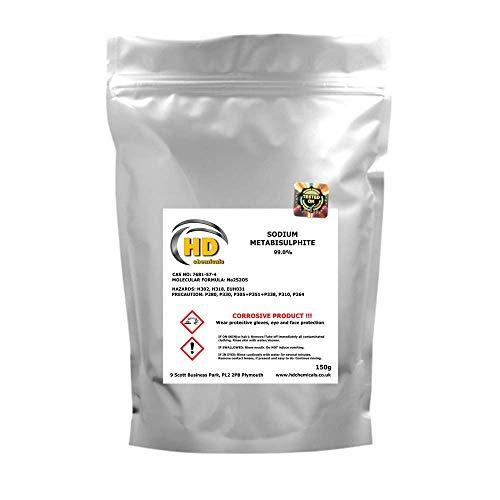 Natriummetabisulfit für Heimbrauen und Weinherstellung, 150 g
