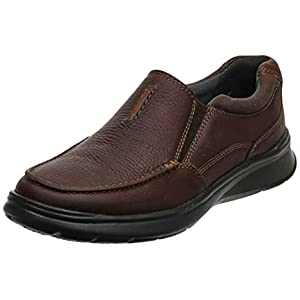 Clarks Men's Cotrell Free Shoe, tobacco leather, 9.5 Wide US