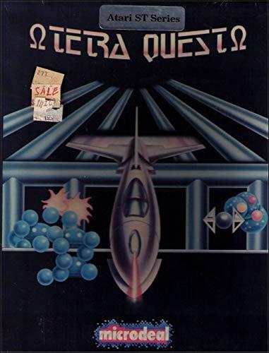 Microdeal Tetra Quest Atari ST - Videojuego vintage