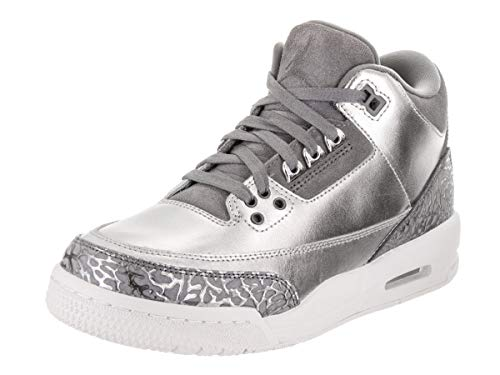 Nike Nike Jungen Air Jordan 3 Retro Prem Hc Basketballschuhe, Grigio, 39 EU