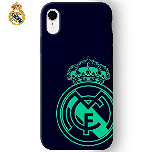 Real Madrid Carcasa iPhone XR Licencia Fútbol Marino