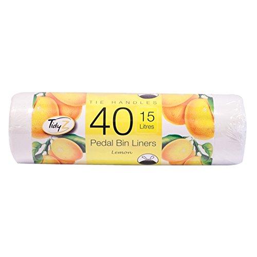 Stalwart B0386 parfumés pour poubelle à pédale (lot de 40)