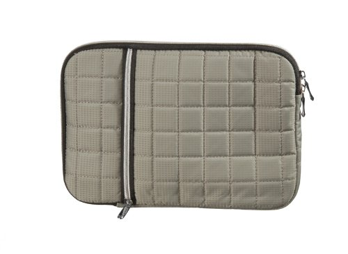 gepolsterte Tablet PC bzw. Notebook Tasche Schutz Hülle Hülle Cover Etui grau passend für TrekStor Volks-Tablet Xiron 10.1 HD (500-10-ste-gr)