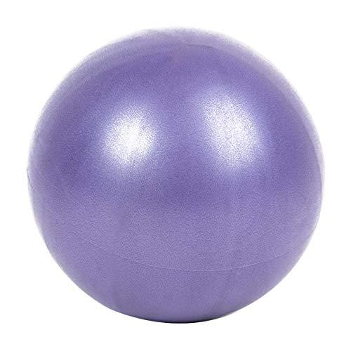 Tree-es-Life Grueso 25 cm PVC Yoga Fitness Ball Profesional Antideslizante Yoga Balls Balance Sport Fitball Proof Ball para Ejercicio en el hogar púrpura