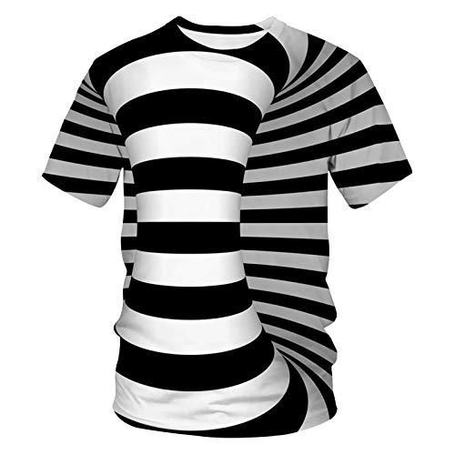 SSBZYES Camiseta Para Hombre Camiseta De Verano De Talla Grande Para Hombre Camiseta De Cuello Redondo Para Hombre Camiseta De Manga Corta Con Estampado De Dibujos Animados Camiseta Deportiva De Manga