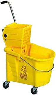 Continental 226-312 26 Qt. Side Press Wringer and Mop Bucket Combo