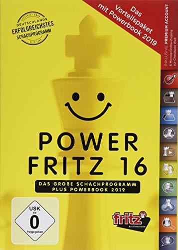 Power Fritz 16: Das grosse Schachprogramm plus Powerbook 2019 - Das Vorteilspaket