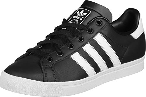 adidas Herren Coast Star Sneaker, Schwarz (Core Black/Footwear White/Core Black 0), 44 EU