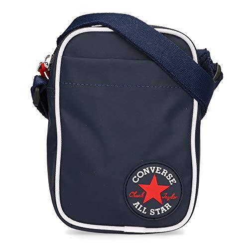 Converse Coated Retro Small Cross Body Bag - Navy