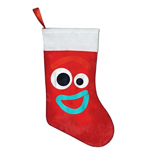 Pixar Toy Story 4 Forky Smiling Christmas Stocking Merry Santa Snowman Sock Stocking