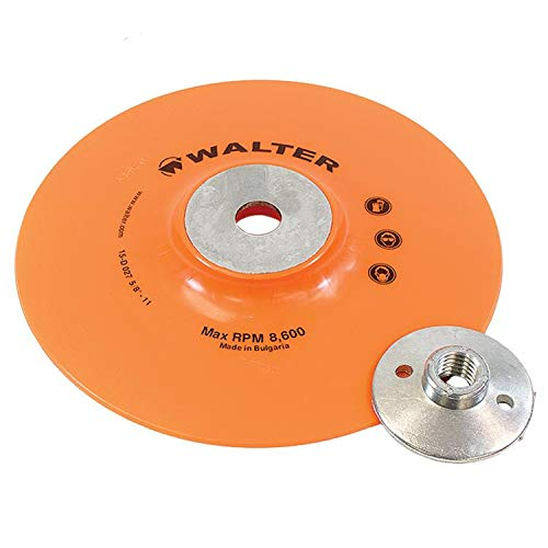 Walter Surface Technologies 15D027 Backing Pad Assembly - Impact Resistant Disc Pad. Sanding Disc Accessories
