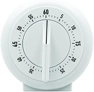 MARATHON TI030001WH 60 Minute Mechanical Wind-Up Timer - White