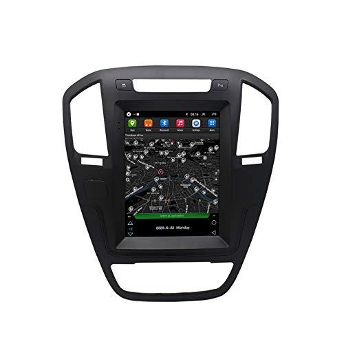 KLL Android Car Radio para Buick Regal 2009-2013(Vertical Screen) GPS Navigation Pantalla táctil capacitiva Manos Libres Bluetooth Car Stereo Player FM Radio Receptor Controles del Volante