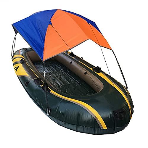 Pesca Sol toldo para 4 Personas,Toldo Ligero para Kayak, Carpa Plegable para Barco, Cubierta Superior para velero,Camping Sombra, Usado para de Accesorios Canoa para Barco de Pesca