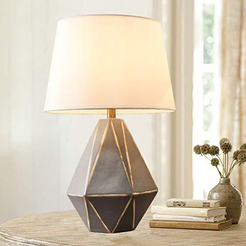 GAOYINMEI Lluminación de Pared Escritorio Moderno Simple de cerámica Hecha a Mano de Porcelana Tabla Americana de Lihgt Dormitorio Ambiente de armonía Funcional del Producto luz de la Pared