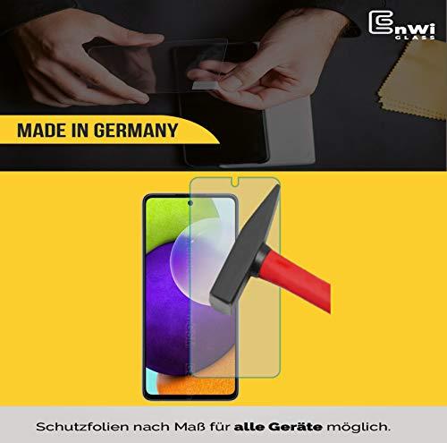 EnWi | 2X Panzer-Glas-Folie 9H Bildschirm-Schutz-Folie für Samsung Galaxy A52